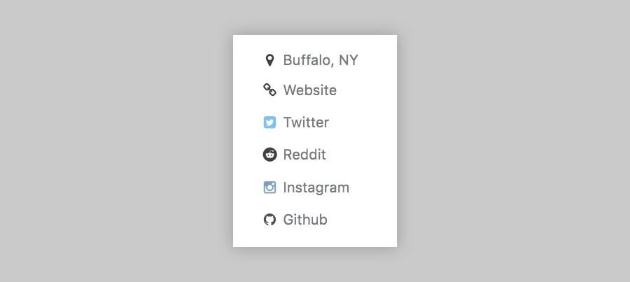 Reddit link in author profile