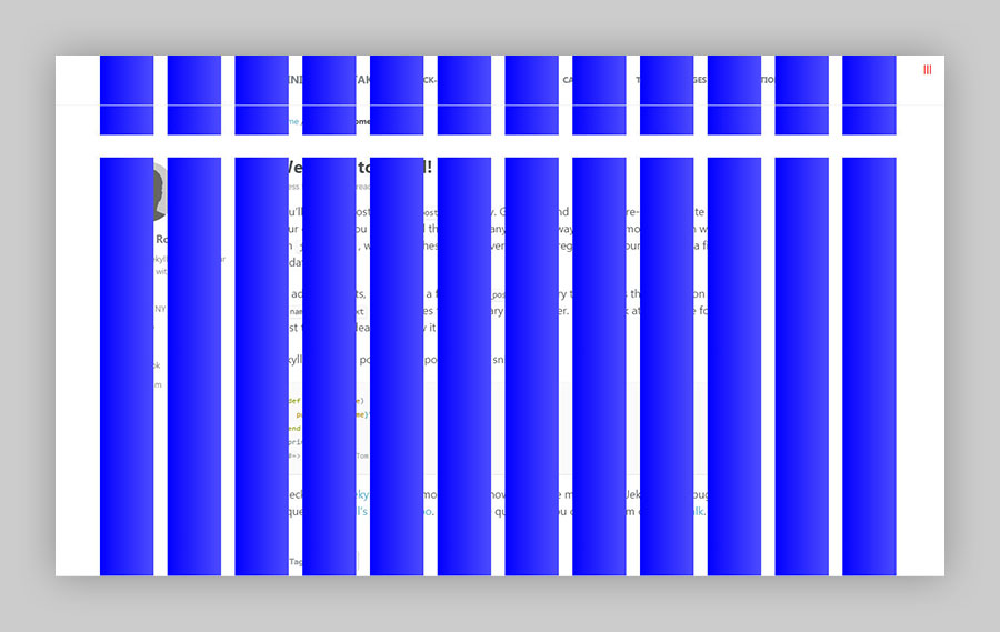 Susy grid overlay for debugging